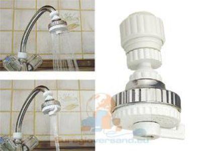 universal wasserspar brausekopf wasserhahn aufsatz 2 stufen wasser sparen ebay. Black Bedroom Furniture Sets. Home Design Ideas