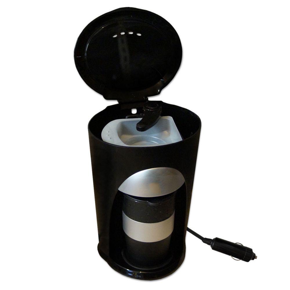 12v kaffeemaschine pads auto lkw reise kaffee automat 12. Black Bedroom Furniture Sets. Home Design Ideas