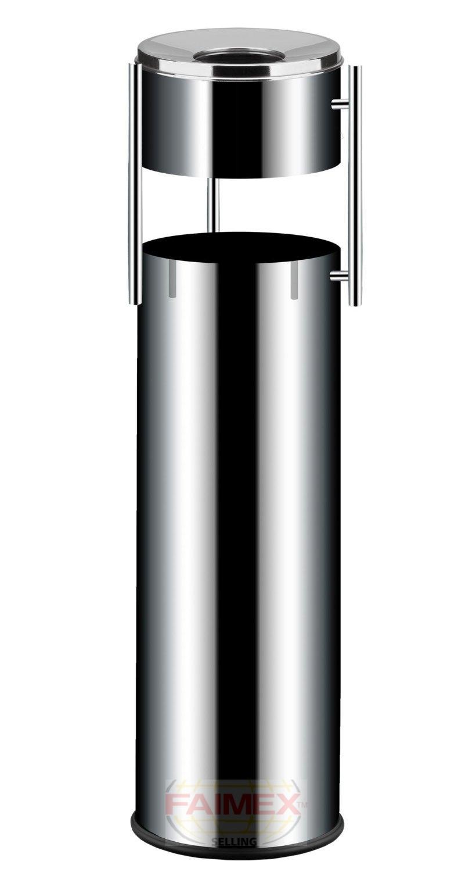 ascher aschenbecher standascher mit m lleimer. Black Bedroom Furniture Sets. Home Design Ideas
