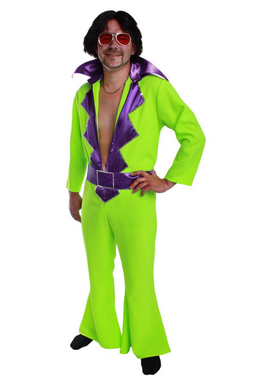hippie overall herren kost m disco outfit 70er 80er jahre