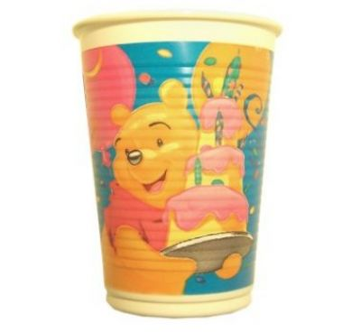 Winnie-the-Pooh-Plastikbecher-Party-Kinder-4246