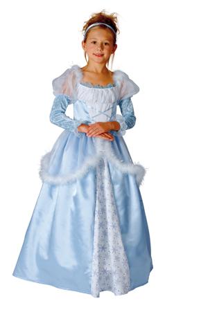 Marchen Prinzessin Kleid In Blau Faschingskostume Fur Kinder 4303v