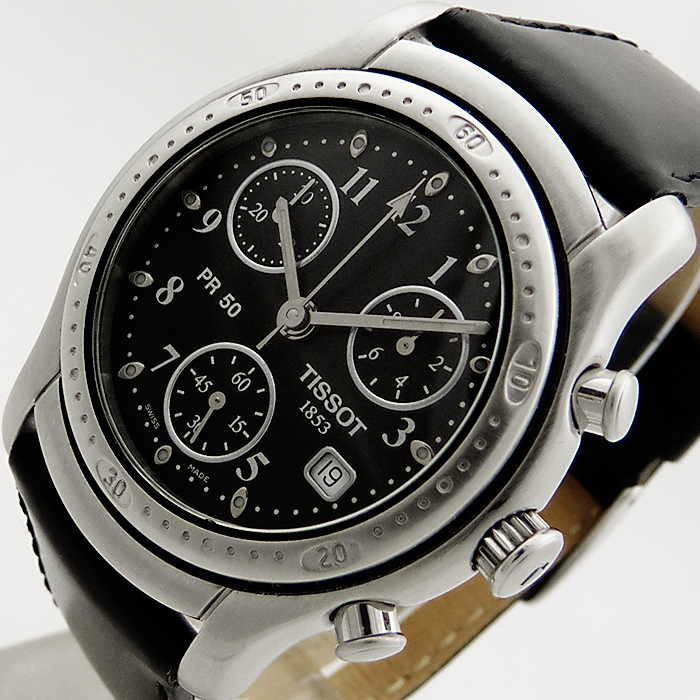tissot 1853 t sport pr50 chronograph herren uhr t34142852 saphirglas box ebay. Black Bedroom Furniture Sets. Home Design Ideas