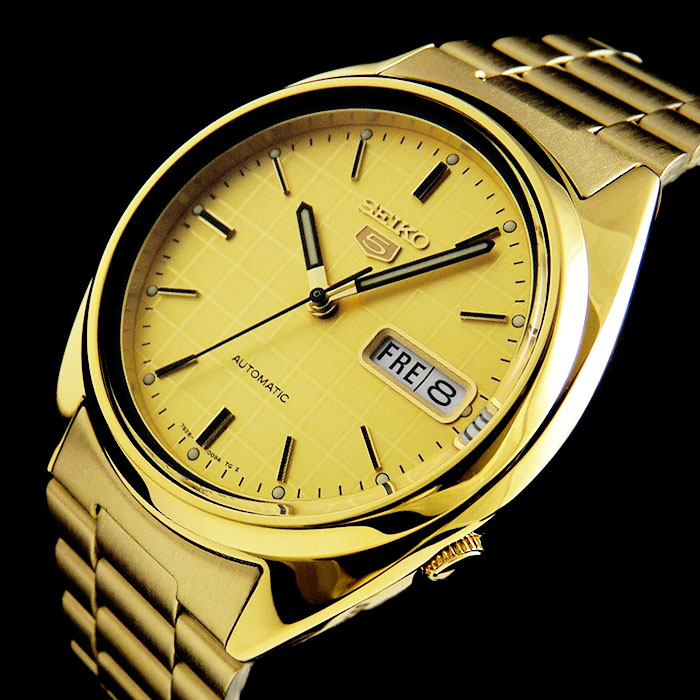 seiko snxl72k automatik day date gold herren uhr glasboden uvp 149 00 eur ebay. Black Bedroom Furniture Sets. Home Design Ideas