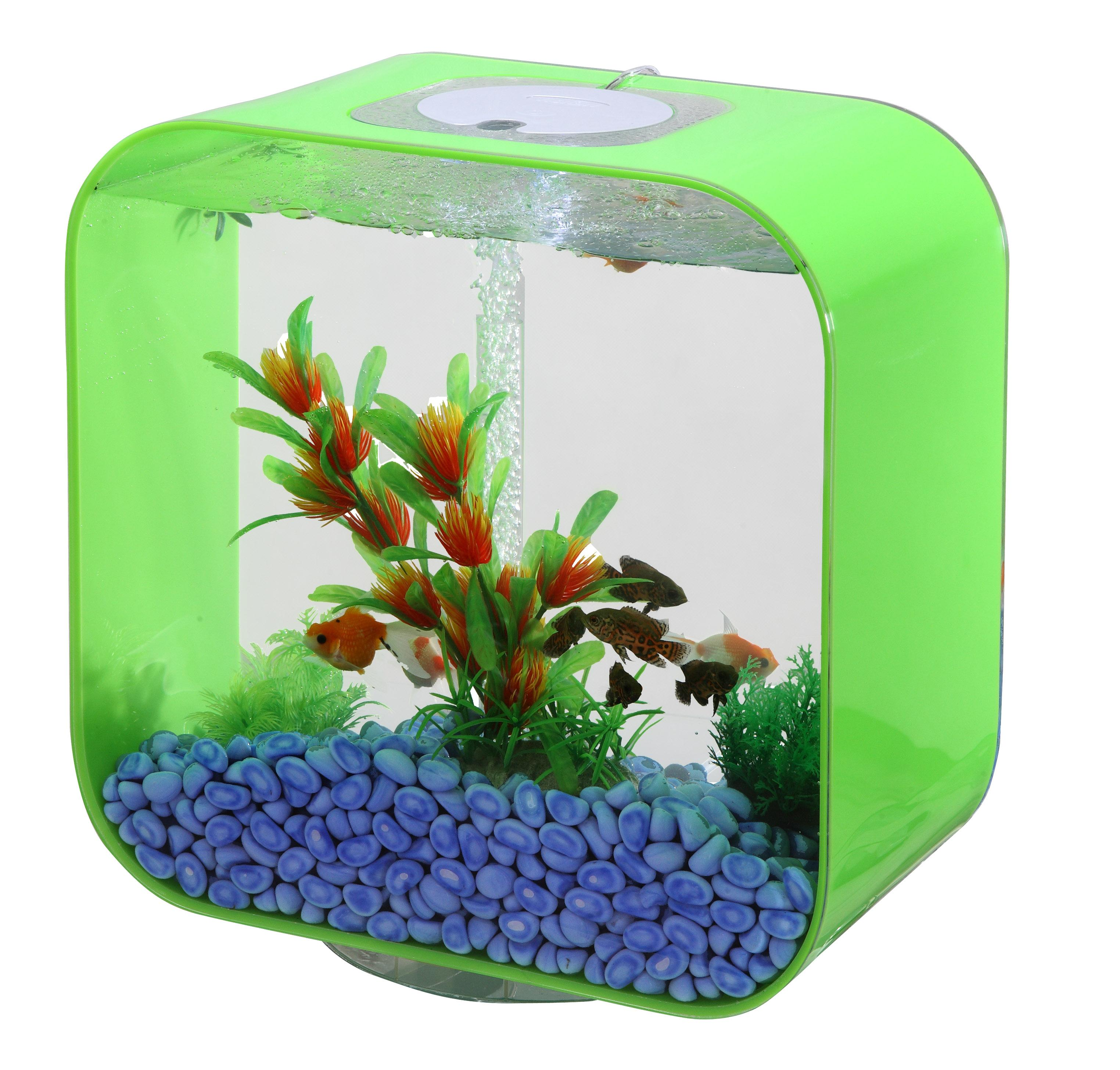 Design Nano Acryl Aquarium Mb600 Rot 45l Fish Fever Ebay