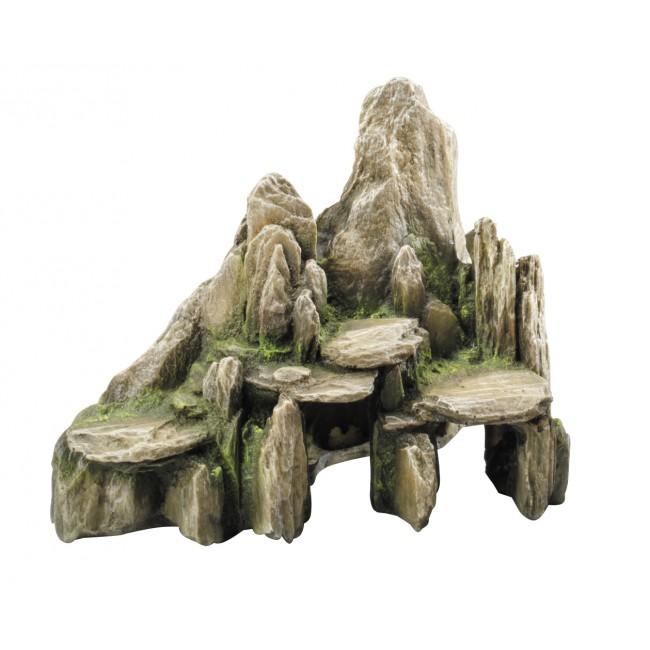 stein h hle aus schiefer 25 cm aquarium deko. Black Bedroom Furniture Sets. Home Design Ideas