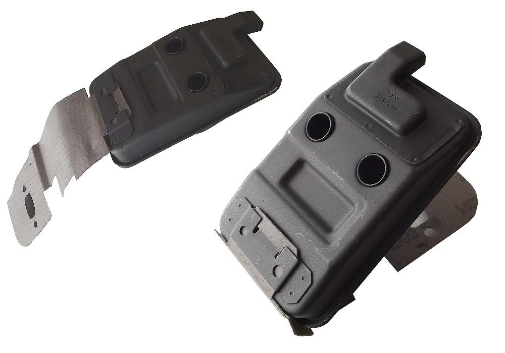 Chappement pour stihl hs 75 80 85 taille haie silencieux d 39 origine joint ebay - Stihl hs 75 ...