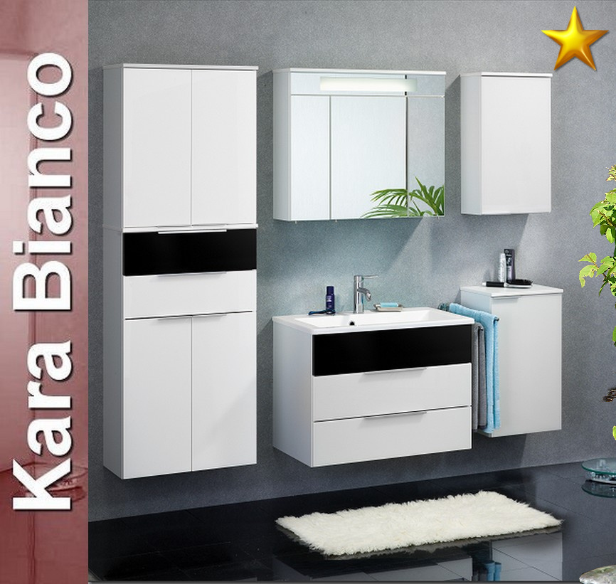 fackelmann kara bianco set 6 2 lg badm bel gussbecken ebay. Black Bedroom Furniture Sets. Home Design Ideas