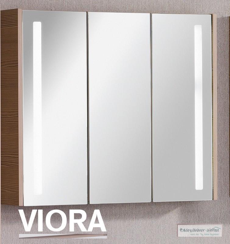 fackelmann badm bel viora spiegelschrank in pinie 3t ren ebay. Black Bedroom Furniture Sets. Home Design Ideas