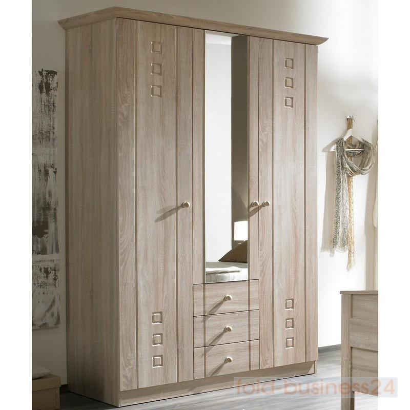 komfort schlafzimmer seniorenzimmer 3 teilig eiche sonoma dekor ebay. Black Bedroom Furniture Sets. Home Design Ideas