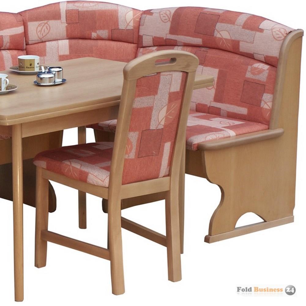 eckbankgruppe in buche teilmassiv natur dekor bezug. Black Bedroom Furniture Sets. Home Design Ideas