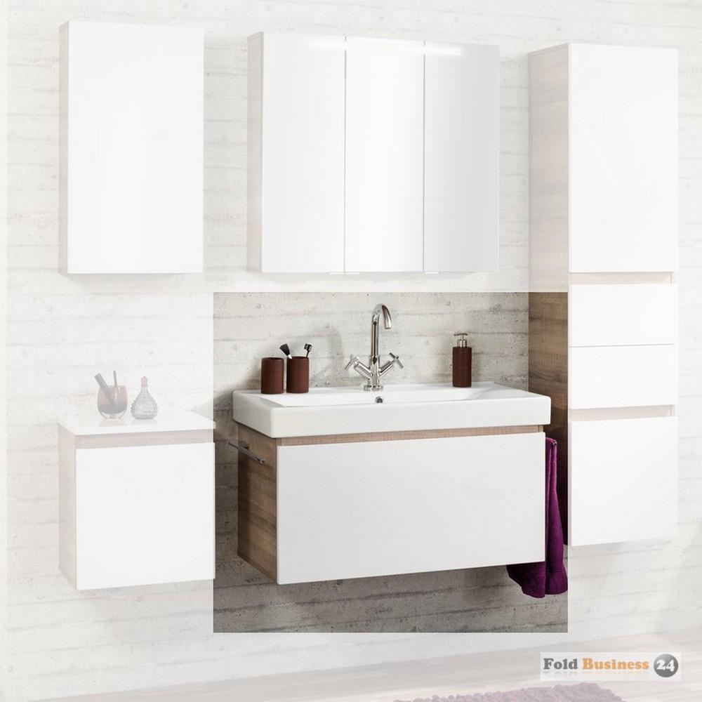 badm bel fackelmann piuro 2 teile waschplatz ebay. Black Bedroom Furniture Sets. Home Design Ideas
