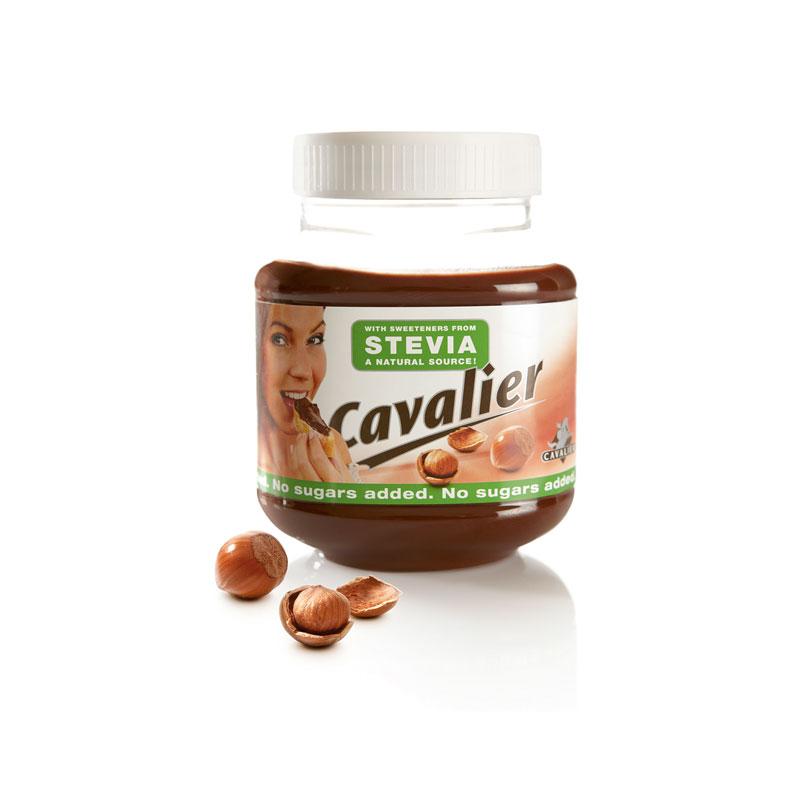 cavalier stevia haselnusscreme low carb stevia ohne zucker 360g ebay. Black Bedroom Furniture Sets. Home Design Ideas