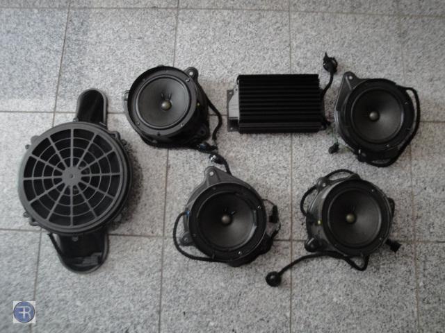 mercedes w220 bose soundsystem system lautsprecher top ebay. Black Bedroom Furniture Sets. Home Design Ideas
