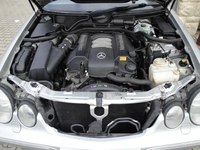 Mercedes w210 s210 w202 w208 clk motor engine c240 e240 v6 for Ebay motors mercedes benz