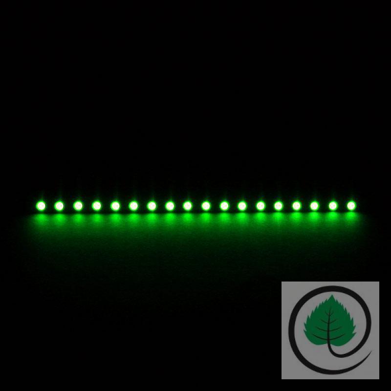 nanoxia rigid led leiste 20cm 2pin 3pin molex dimmbar green gr n 64 5eur m ebay. Black Bedroom Furniture Sets. Home Design Ideas