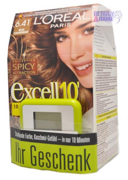 Loreal excell10 haarfarbe k hles caramelbraun ebay - 10 minuten haarfarbe ...