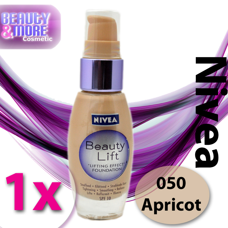 Nivea Beauty Lift Make Up Lifting effect Foundation 050 ...
