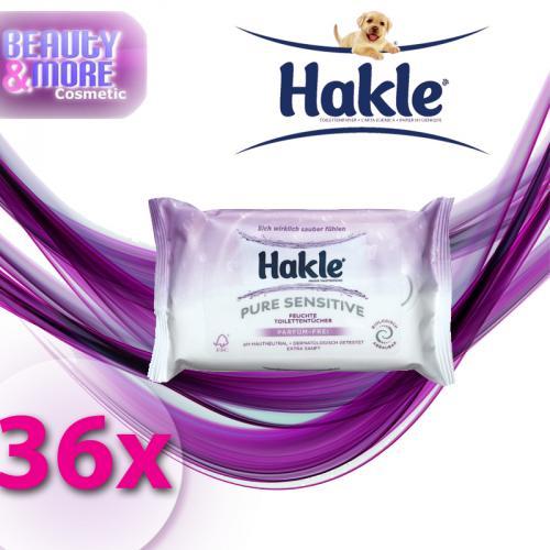 36x-Hakle-Feucht-Nachfuellpack-feuchte-Toilettentuecher-Sensitiv