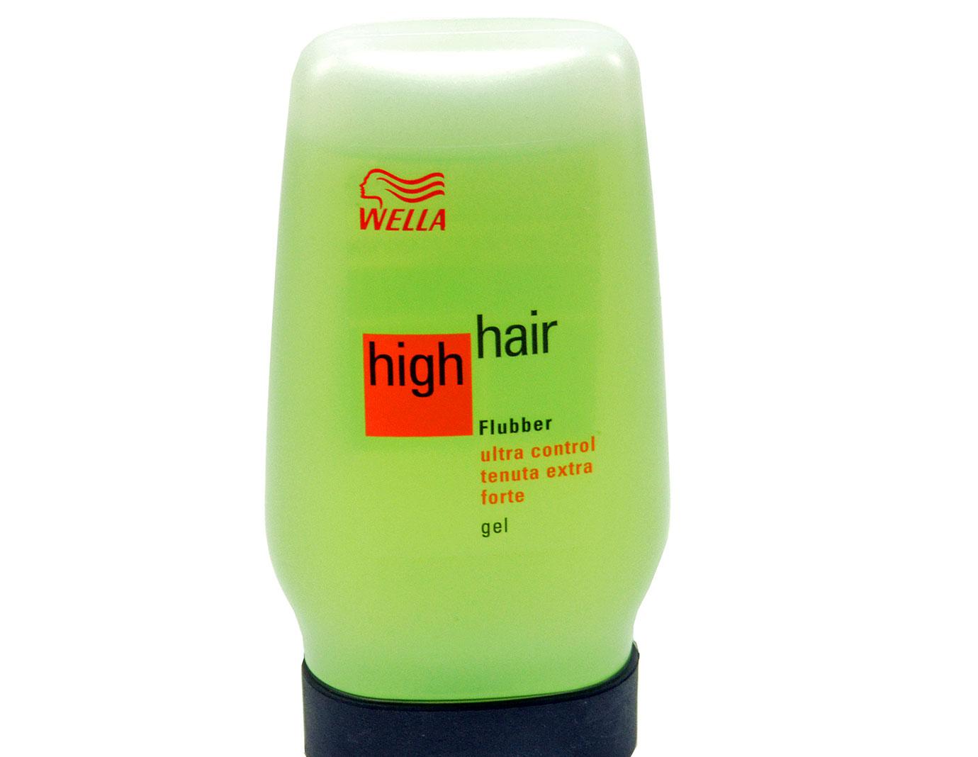 Wella High Hair Flubber Ultra Control Hair Gel (green Tube) - 125ml | eBay
