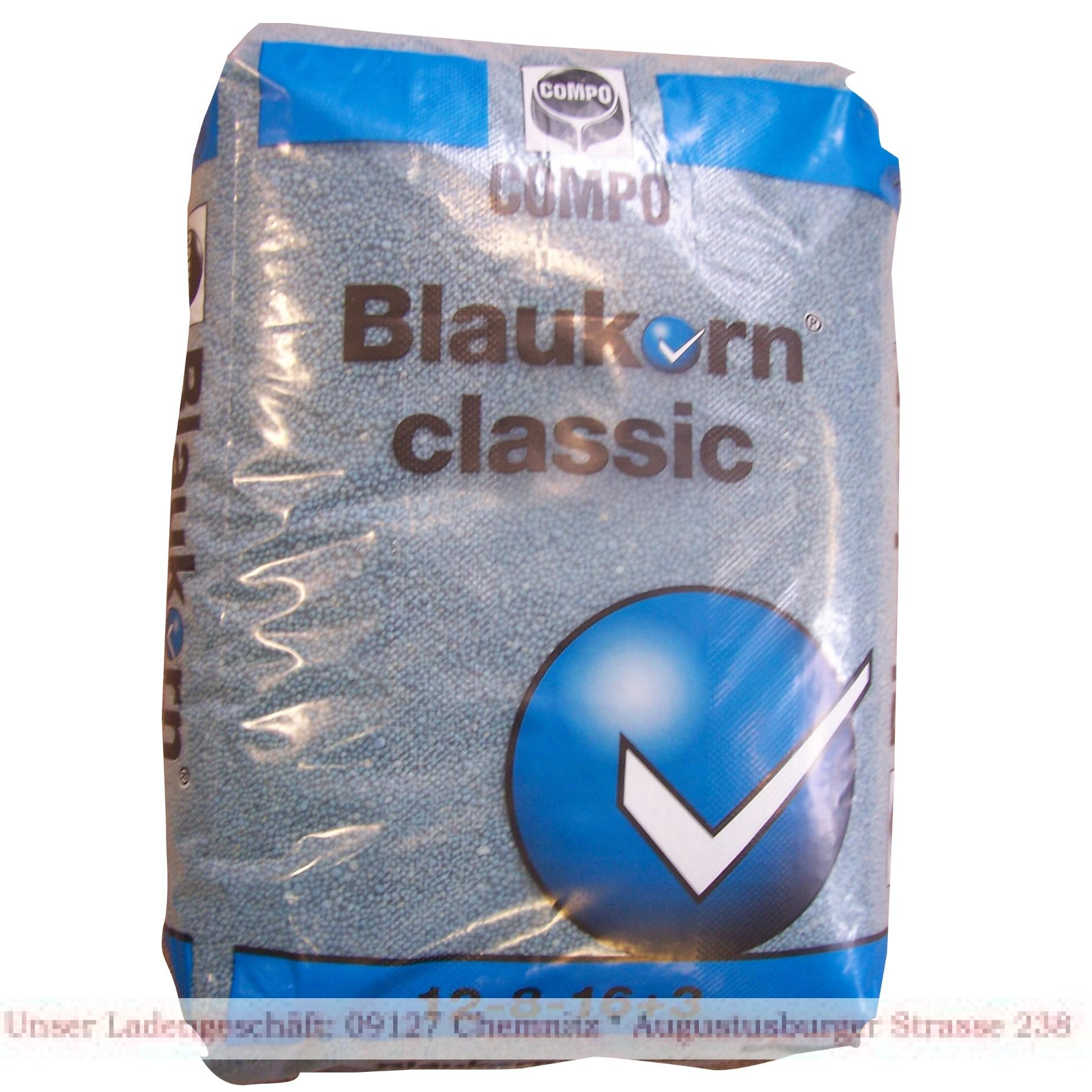 blaukorn 25 kilo combo npk mgo 12 8 16 10 stickstoff. Black Bedroom Furniture Sets. Home Design Ideas
