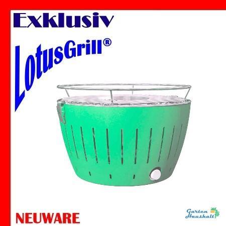 lotusgrill gr n grill rauchfrei neuheit plus brennpaste batterien tasche ebay. Black Bedroom Furniture Sets. Home Design Ideas