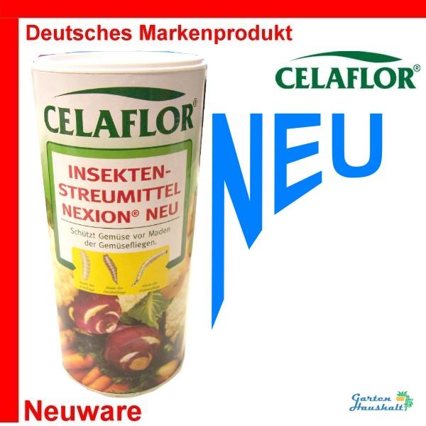 celaflor streumittel nexion gegen insekten 200 gr 100gr. Black Bedroom Furniture Sets. Home Design Ideas