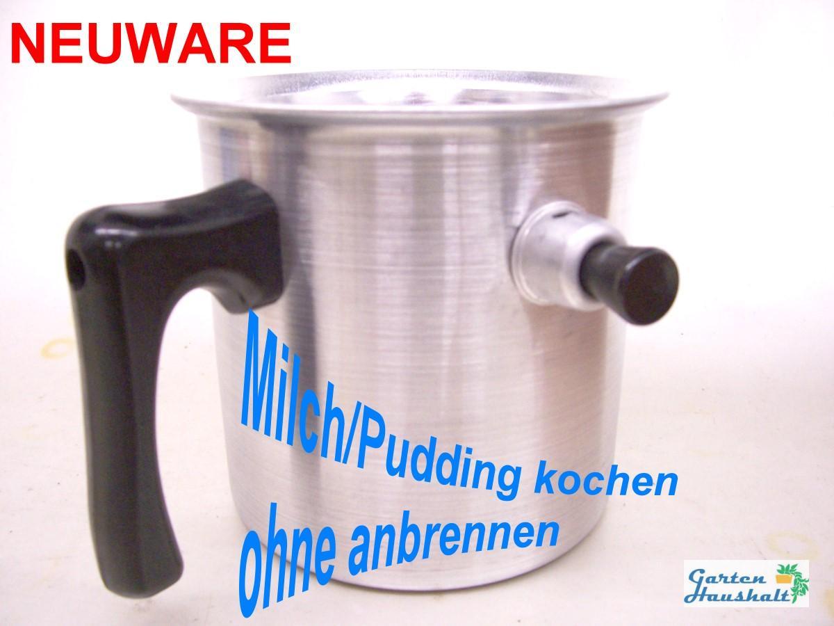 wasserbadkocher milchtopf alu 2 liter milch pudding kochen ohne anbrennen ebay. Black Bedroom Furniture Sets. Home Design Ideas