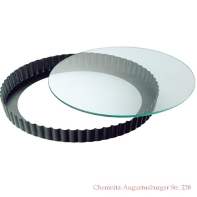 28 quiche form obstkuchen backform mit glasboden kaiser serie crystal ebay. Black Bedroom Furniture Sets. Home Design Ideas