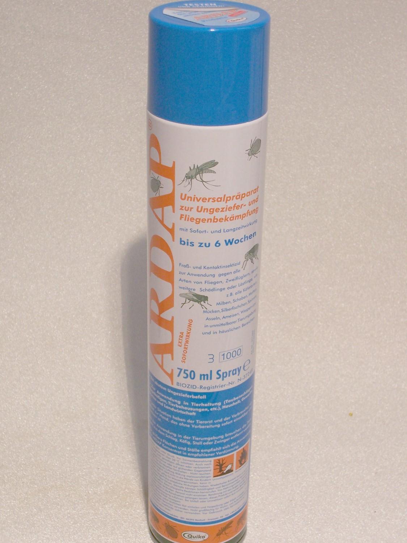 insektenspray ardap anwendg in tierhaltung haushalt garten u wh ebay. Black Bedroom Furniture Sets. Home Design Ideas
