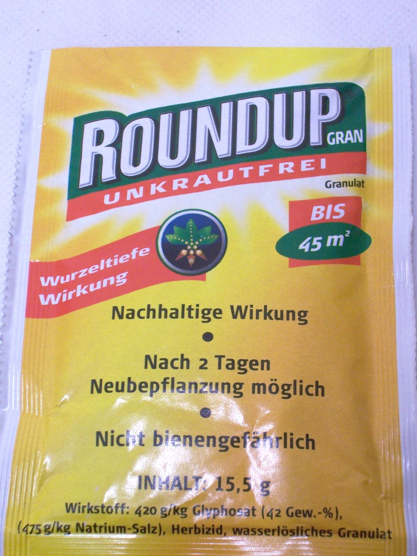 Roundup® Unkrautfrei Granulat nicht Bienengefährlich bis ...