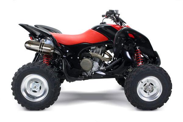 Quad Honda 700 Trx Auspuff Honda Trx 700 xx Mit