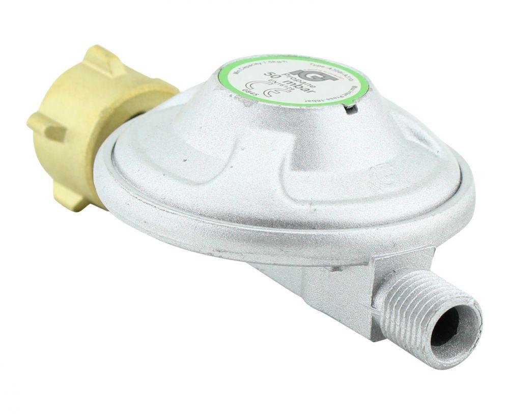50 mbar druckminderer gas druckregler manometer propan. Black Bedroom Furniture Sets. Home Design Ideas
