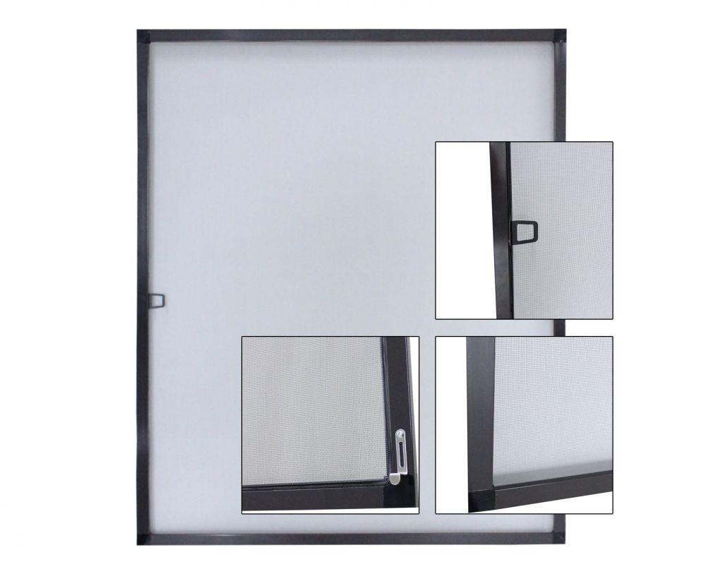 Protezione insetti griglia telaio alluminio rete zanzara finestra cornice in - Griglia regolabile protezione finestre ...