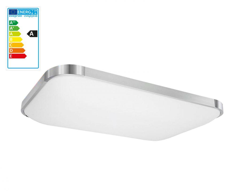 Dimmerabile plafoniera led con telecomando lampada da - Led in cucina ...