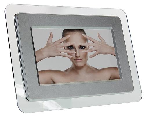kitvision 7 zoll digitaler bilderrahmen silber ebay. Black Bedroom Furniture Sets. Home Design Ideas
