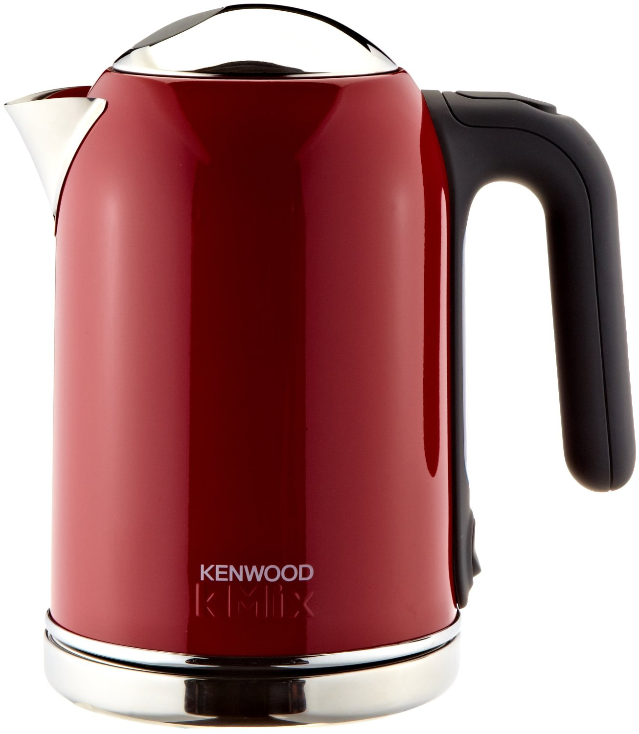 kenwood wasserkocher kmix sjm 031 1 6 liter chili rot ebay. Black Bedroom Furniture Sets. Home Design Ideas