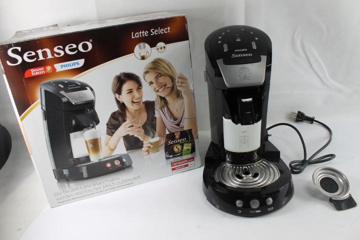 deckel defekt philips senseo hd7854 60 latte select kaffeepadmas ebay. Black Bedroom Furniture Sets. Home Design Ideas