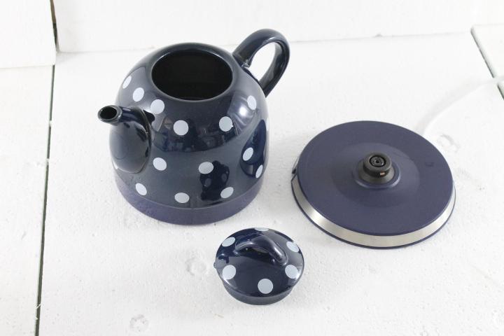 Gourmet Maxx Design Keramik Wasserkocher Teekanne Tee  ~ Wasserkocher Tee