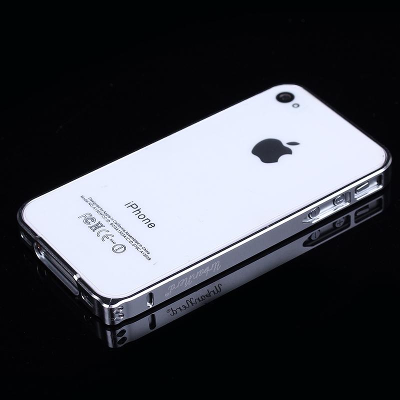 urban nerd iphone 4 4s alluminio bumper cnc case cover custodia