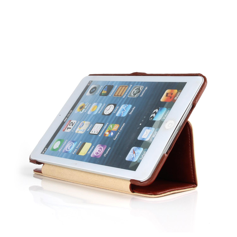 pcaro rome ledertasche f r ipad mini 2 mini 3 tasche h lle cover case braun ebay. Black Bedroom Furniture Sets. Home Design Ideas