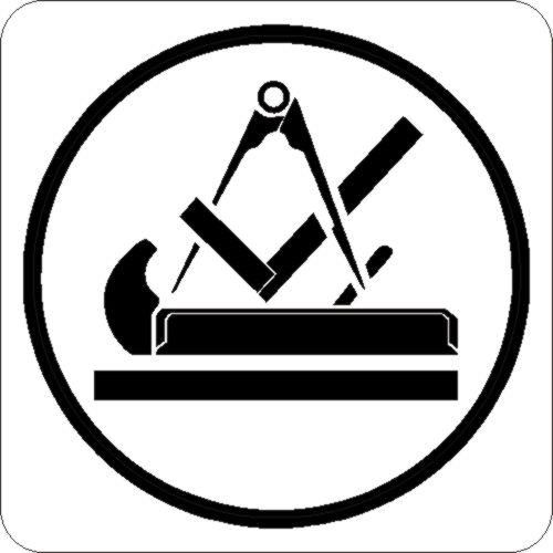tischler schreiner zunft symbol auto aufkleber car ebay. Black Bedroom Furniture Sets. Home Design Ideas