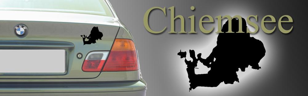 chiemsee auto aufkleber umriss tattoo sticker ebay. Black Bedroom Furniture Sets. Home Design Ideas
