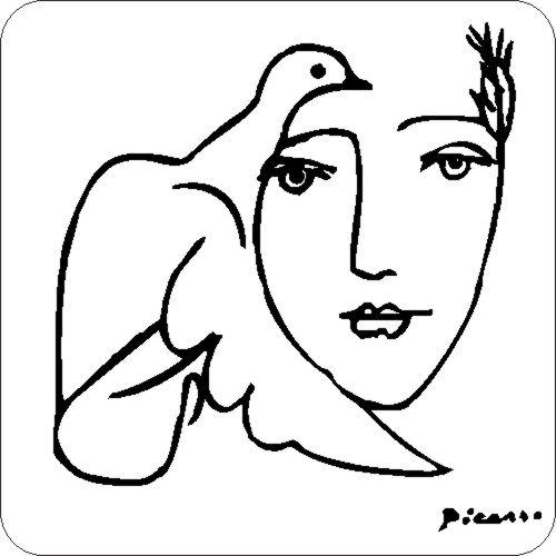 Picasso Taube am Gesicht Auto Aufkleber Tattoo Stick  eBay