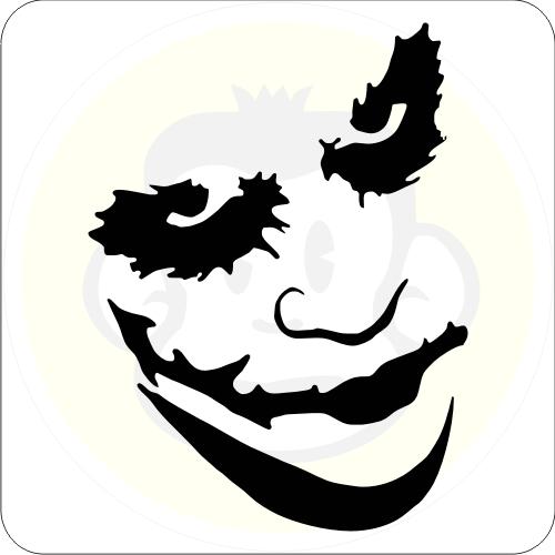 joker m02 aufkleber maske sticker batman clown ebay. Black Bedroom Furniture Sets. Home Design Ideas