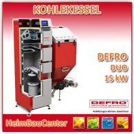 Automatischer Kohlekessel Defro Duo 15 kW Kohle / Holz