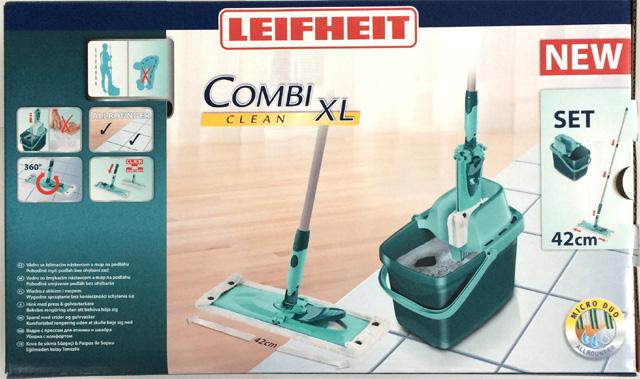 leifheit 55360 set combi clean xl bodenwischer set neu ovp ebay. Black Bedroom Furniture Sets. Home Design Ideas