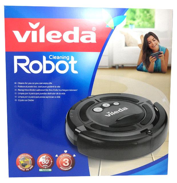 vileda 147274 cleaning robot battery vacuum robot. Black Bedroom Furniture Sets. Home Design Ideas