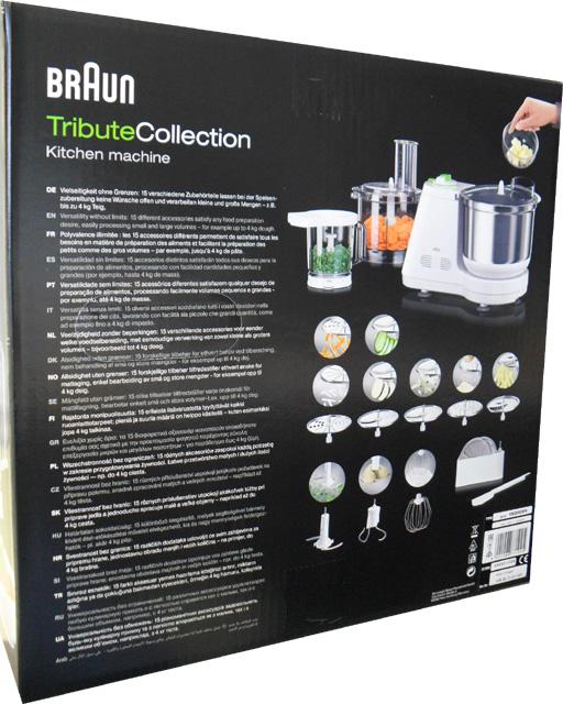 tributecollection braun küchenmaschine km 3050