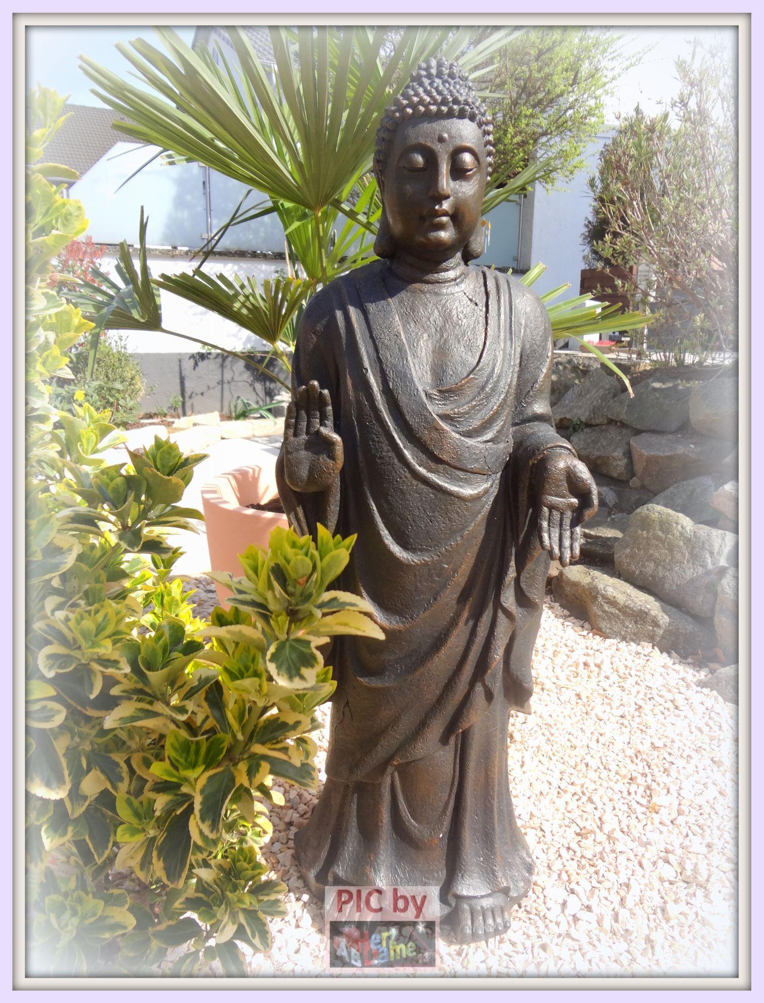 Ab86 skulptur riesiger garten buddha meditation buddismus - Garten buddha frostsicher ...